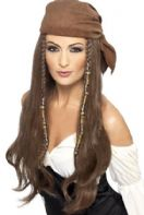 Pirate Brown Wig (21398)